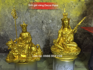 Son gia vang Decor Paint