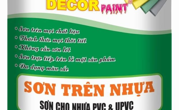 Son tren nhua Decor Paint